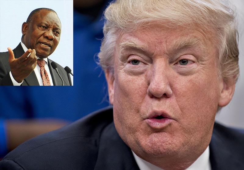 'Disappointed' South Africa summons US envoy for Trump tweet