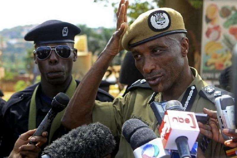 Uganda's ex-police boss Kayihura charged with arming criminal gangs