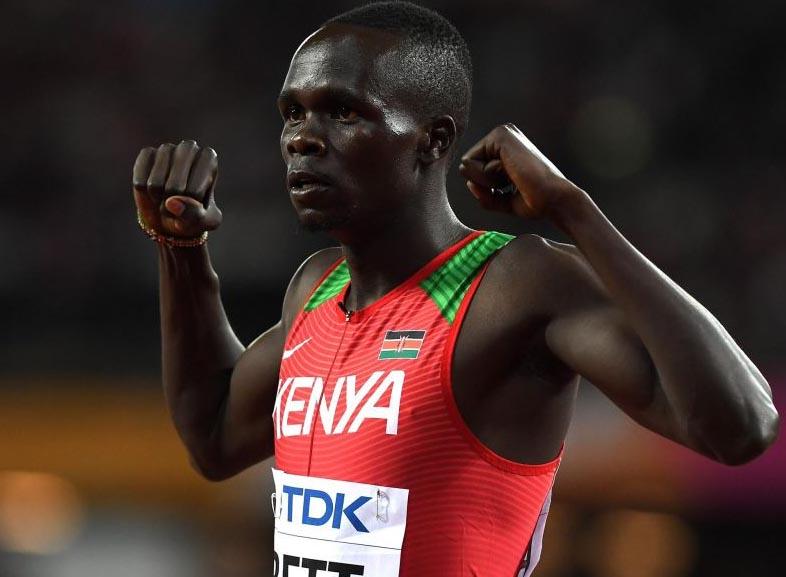 Kenyan runner Bett faces 4-year ban for failed test
