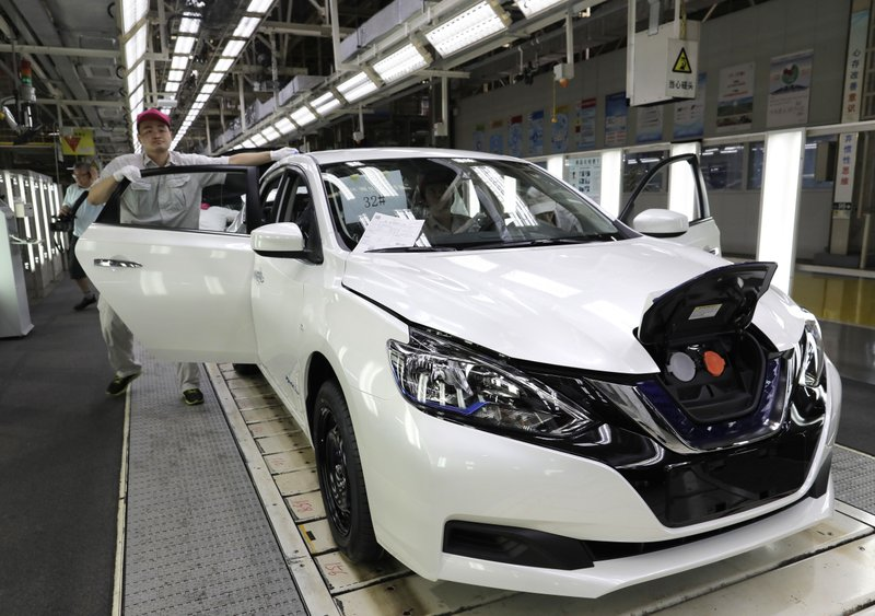 Nissan launches China-focused electric car