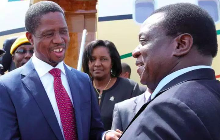 President Lungu: Zambia must learn from Zimbabwe's election example
