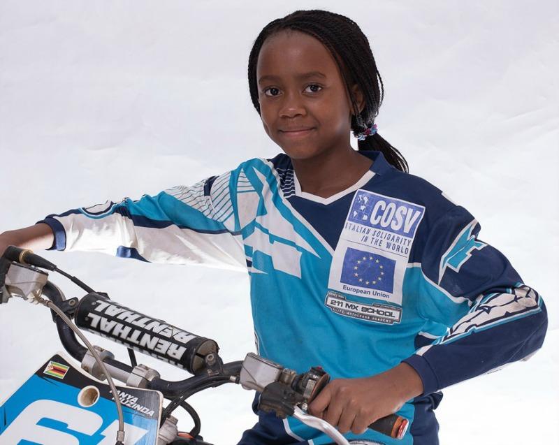 Zimbabwe motocross megastar up for African children awards