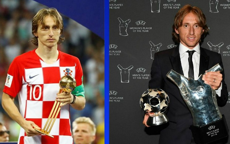 Modric beats Salah, Ronaldo to 2017/2018 UEFA best player award