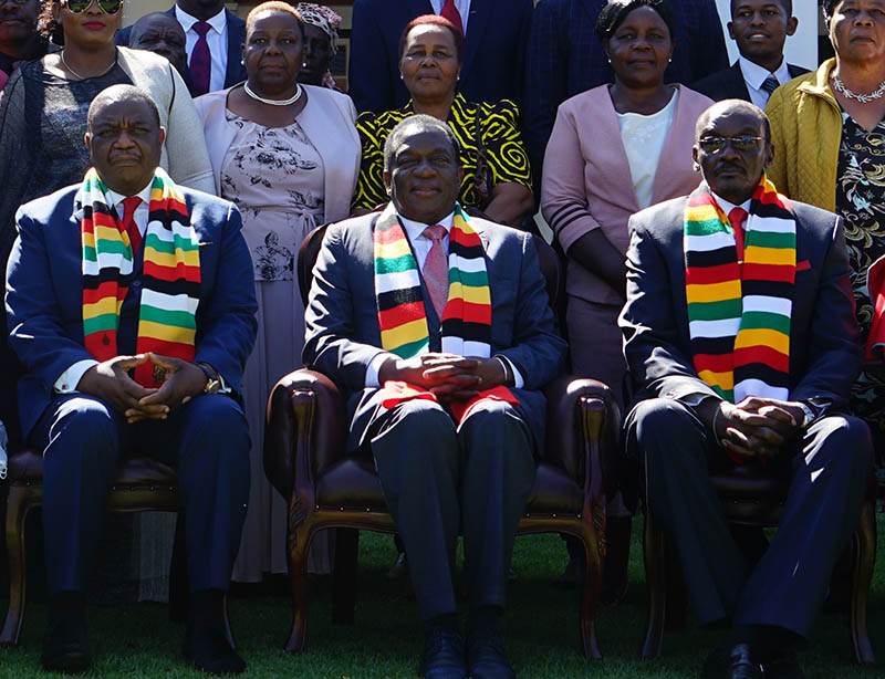 IN PICTURES: Inauguration of VPs Constantino Chiwenga and Kembo Mohadi