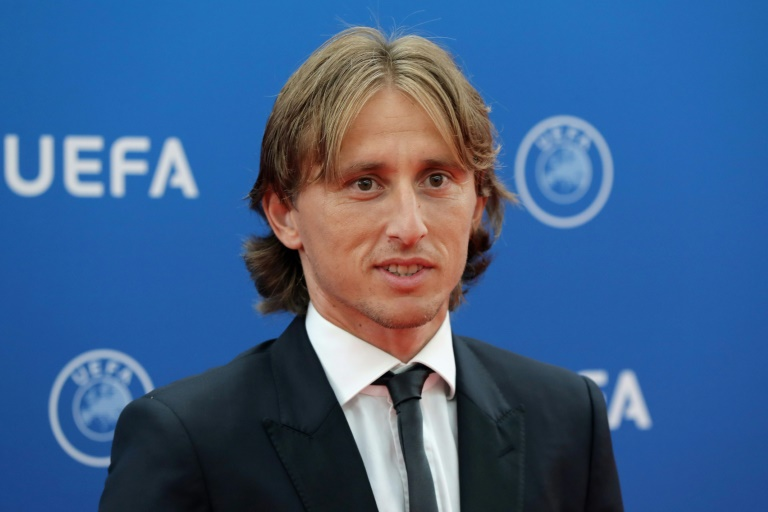 Modric 'will never play with Messi'
