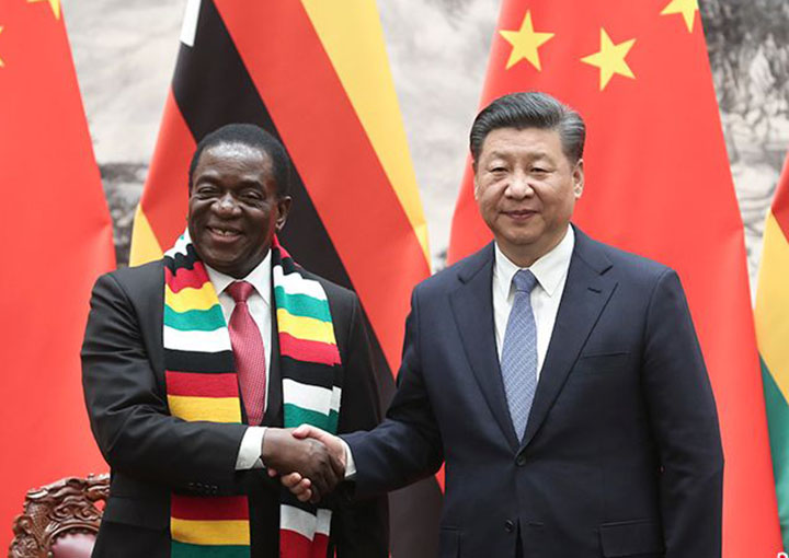 China stands in solidarity with Zim in battle against Covid-19