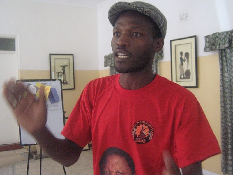 MDC Alliance youth leader and MP-elect in court over violence; bailed $100