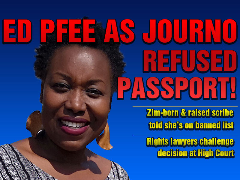 Journalist Violet Gonda denied Zim passport by govt; told she's blacklisted