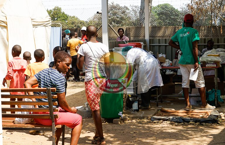 Cholera outbreak in Harare is government's baby