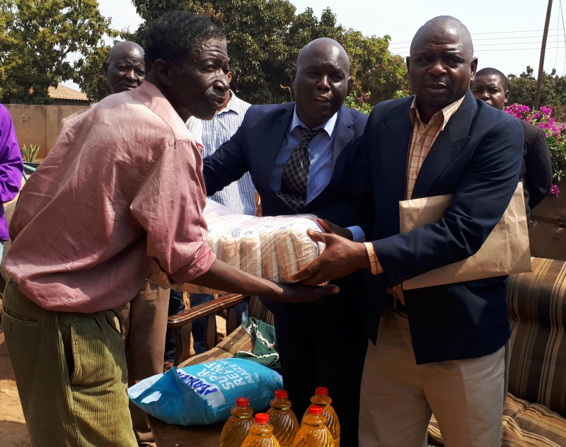 Cholera outbreak: Images of a tour to affected areas by Harare Mayor