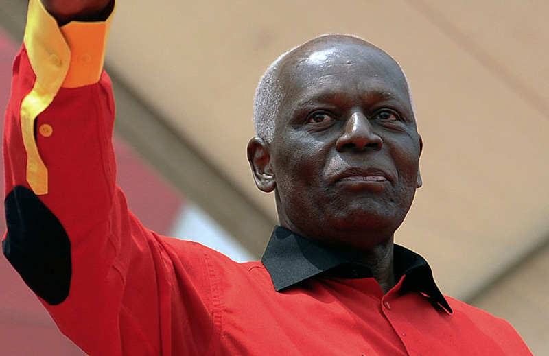 Dos Santos steps down as leader of Angola's ruling party