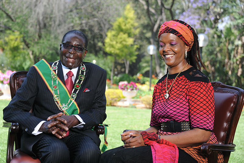 How Mugabe started adulterous Grace affair: 'I just grabbed and kissed her; she did not resist'