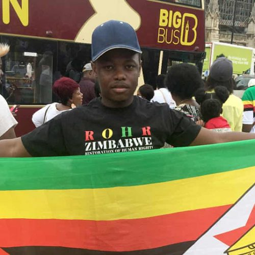 UK: MDC Alliance activists fights deportation; says fears for his life in Zimbabwe