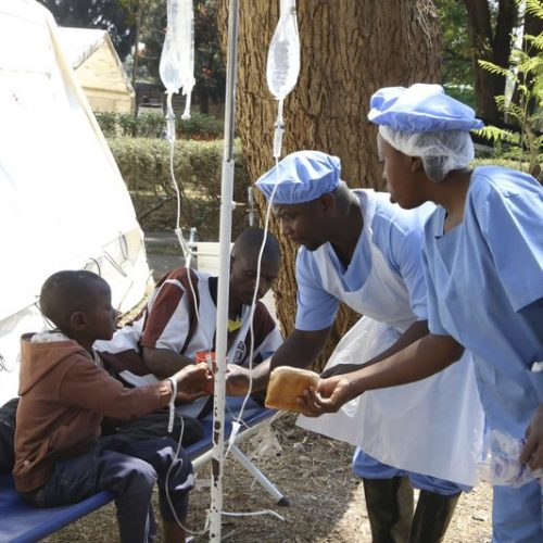 Harare reports 'significant' decrease in cholera cases