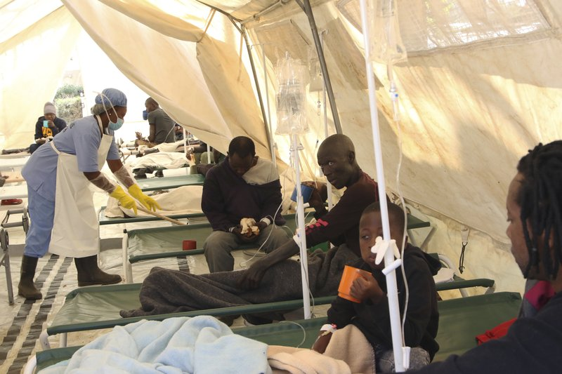 Cyclone Idai: Sharp rise in cholera cases