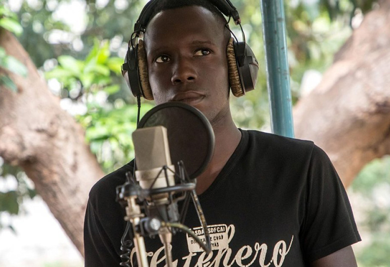 Songs of freedom: In jail, Burkina inmate makes first album