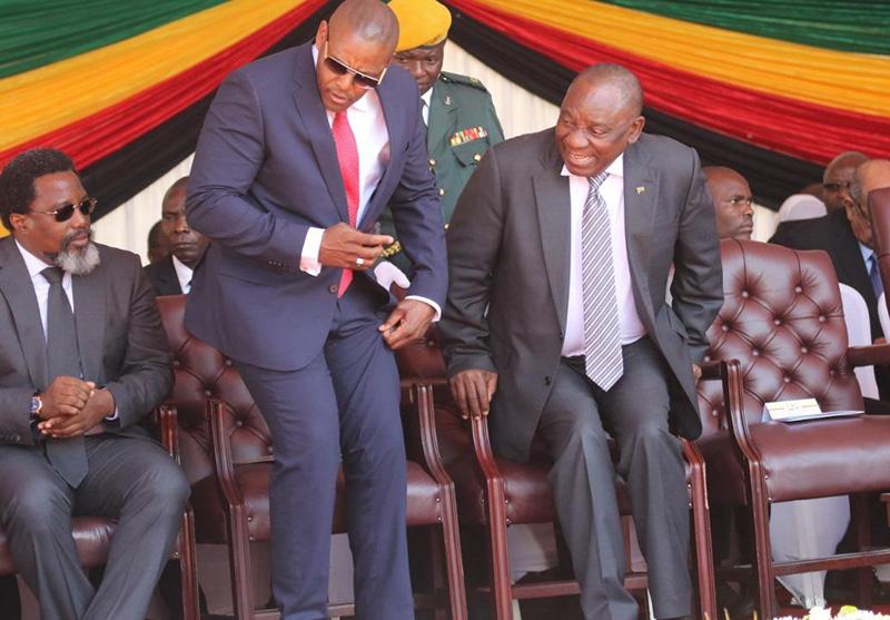 Buyanga feted in post-Mugabe Zimbabwe