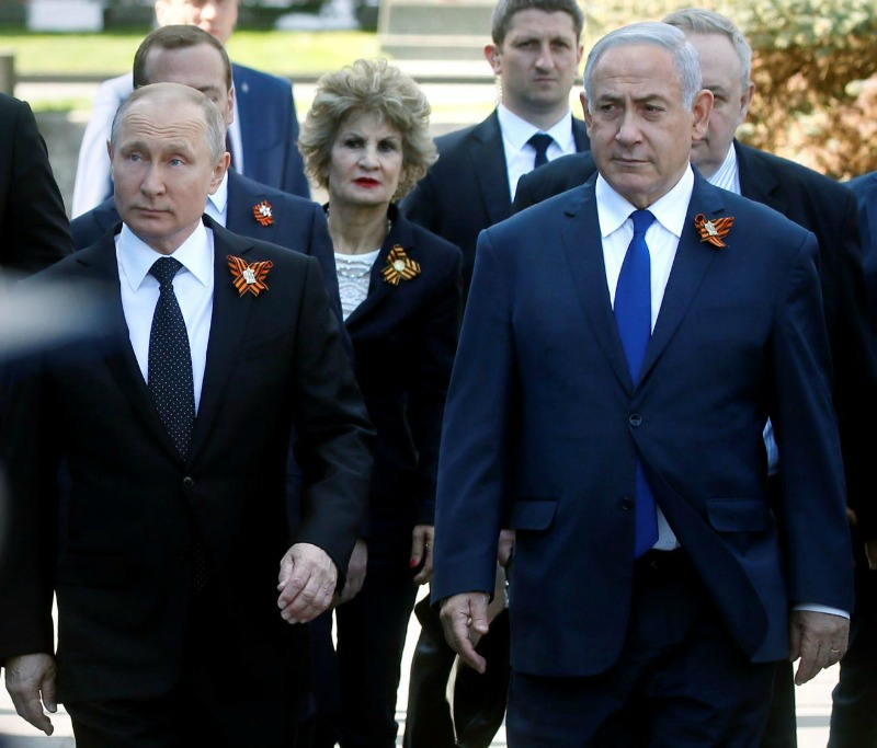 Russian aircrew deaths: Putin and Netanyahu defuse tension