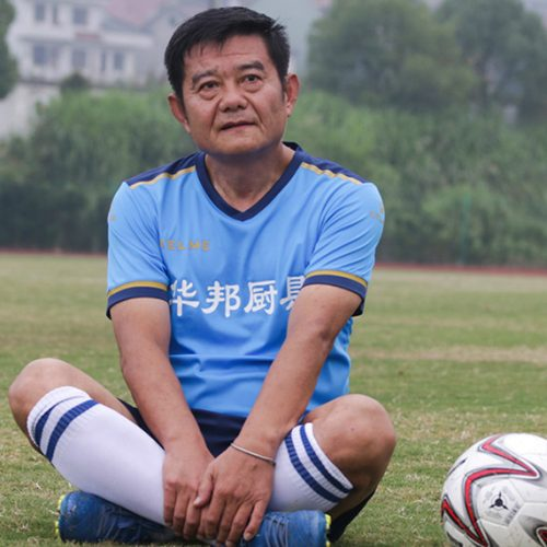 China's 'Maradona': the 'Soccer Nut' still going strong at 63