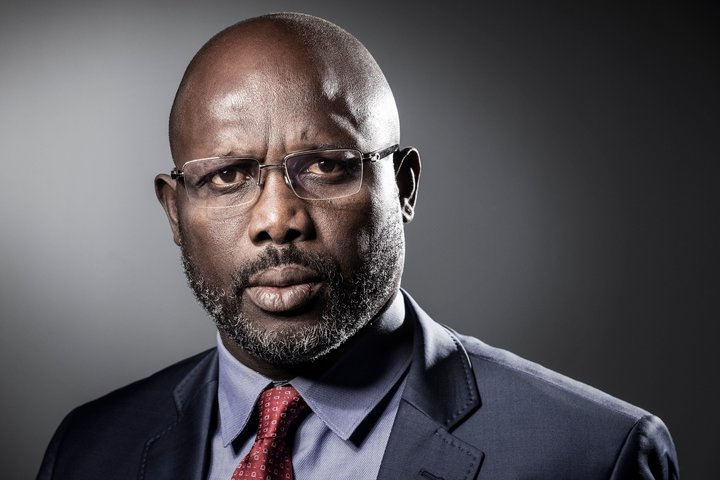 Liberia's footballer president Weah marks year in office