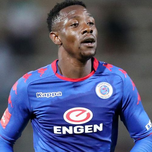 SuperSport United's Zim striker Evans Rusike would love to win the PSL Golden Boot award
