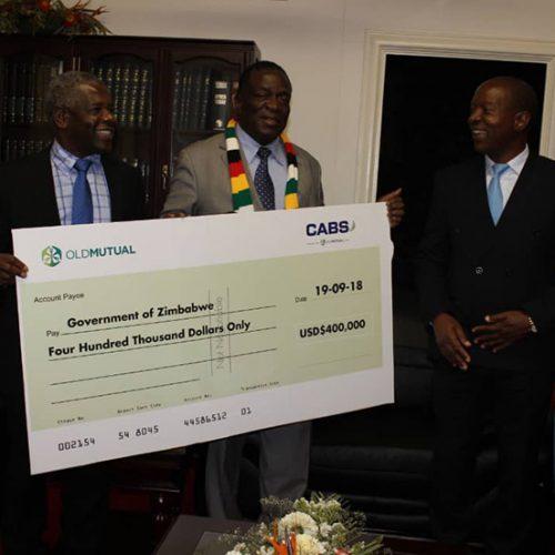 Old Mutual, Ecobank, PSMI contribute $800 000 towards cholera fight