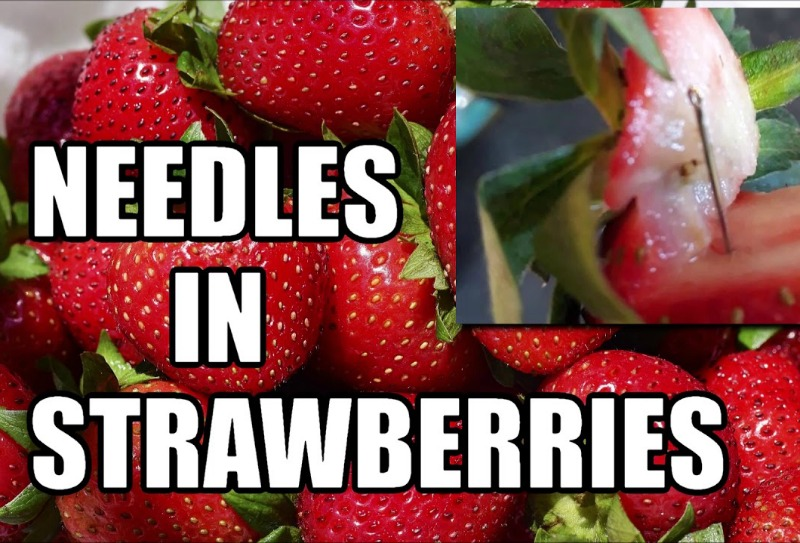 More than 100 Australians find needles hidden in their strawberries and other fruit