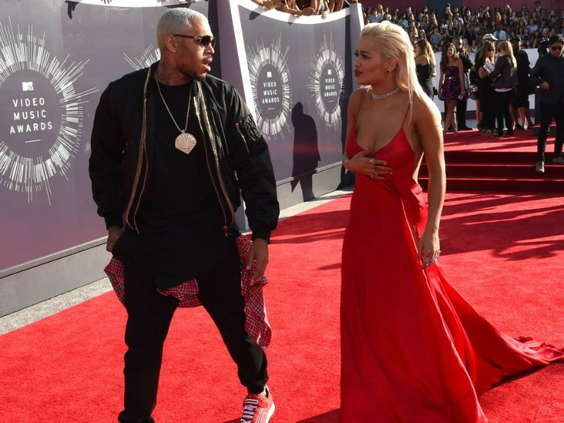It's OFFICIAL . . . Chris Brown Is Dating Rita Ora!!