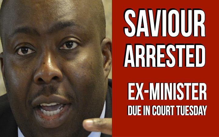 Former cabinet minister Kasukuwere arrested