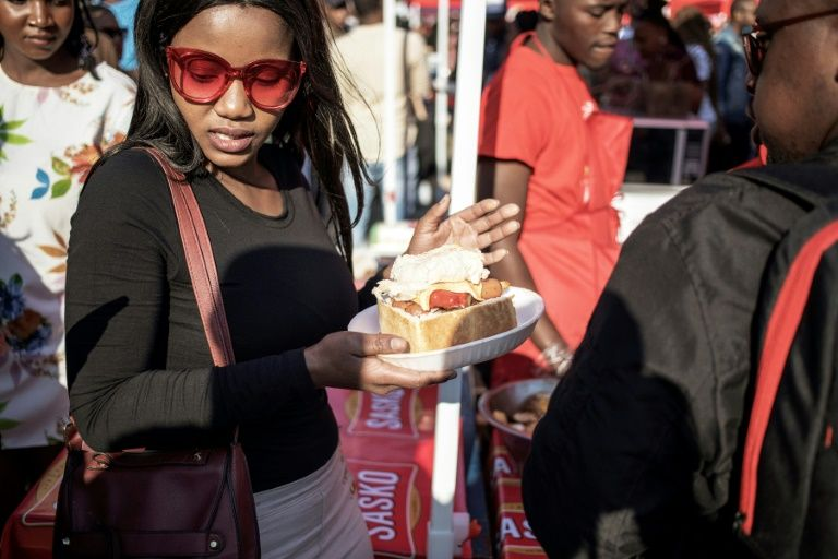 South Africa's Soweto township celebrates iconic street snack