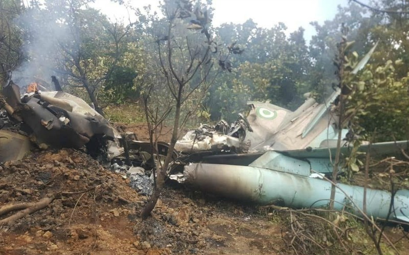 Nigerian pilot dies in crash during independence day rehearsal