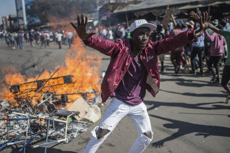 Five arrested for Harare CBD violence