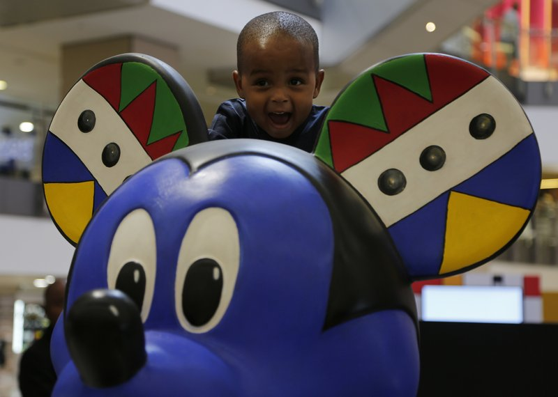 Mickey Mouse gets African wardrobe options for 90th birthday