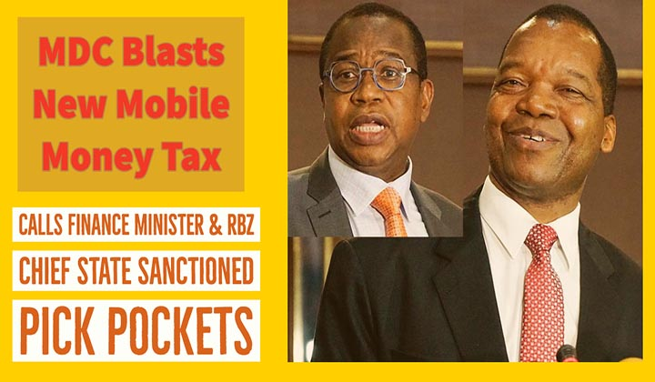 Mthuli Ncube robs poor Zimbabweans to fund lavish elite – says Chamisa's MDC