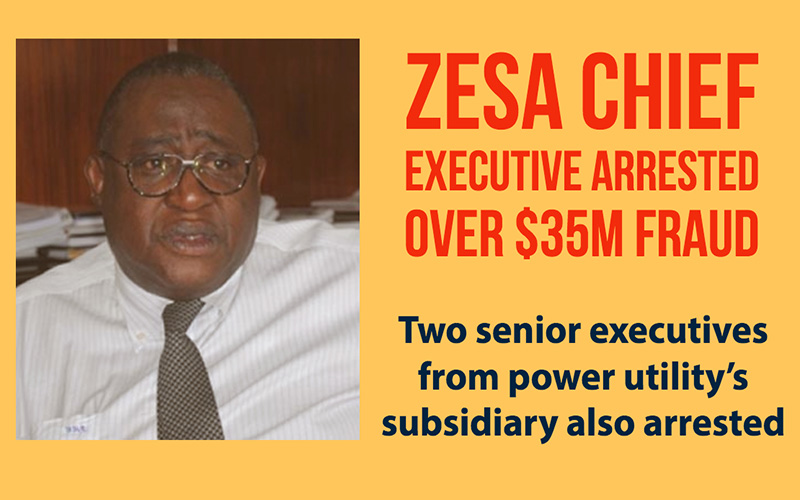 Zesa chief executive and senior managers arrested over $35m fraud