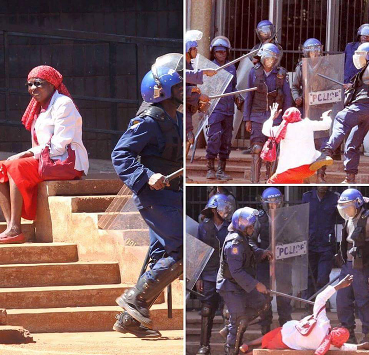 Court orders Govt to compensate gran (64) kicked and baton-charged by riot cops