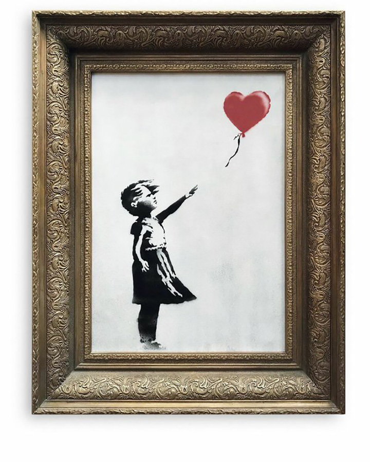 Banksy artwork self-destructs just after $1.4 million sale