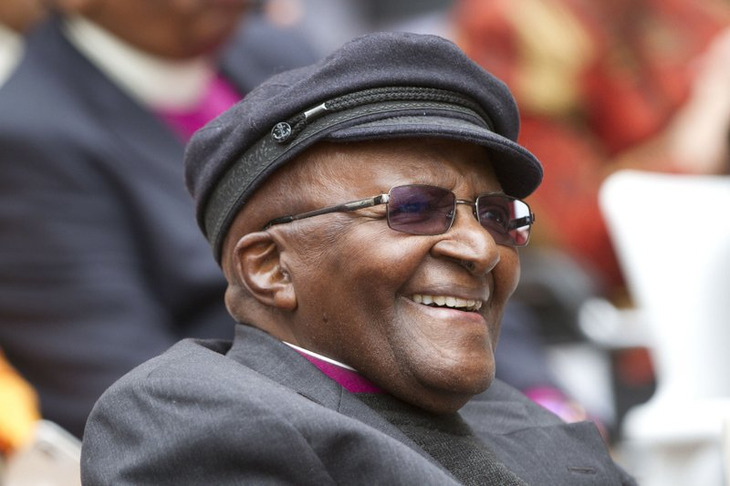 Desmond Tutu spends 87th birthday in a Cape Town hospital
