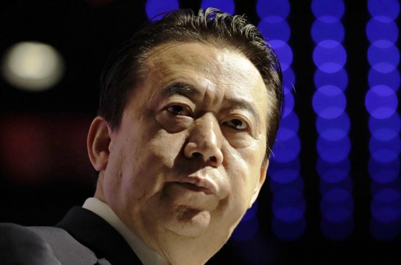 Interpol ex-chief may be dead, wife fears, after capture by Chinese