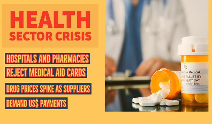 FOREX Crisis: Hospitals and pharmacies reject medical aid as drug prices hit the roof