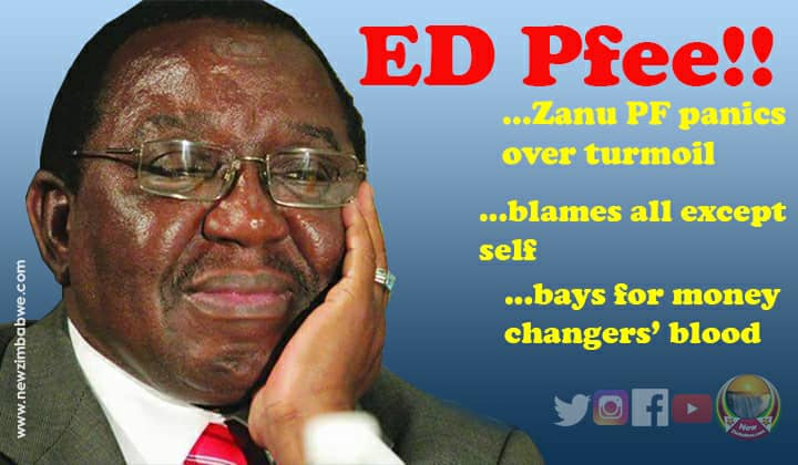 Zanu PF cries sabotage as economy takes nosedive