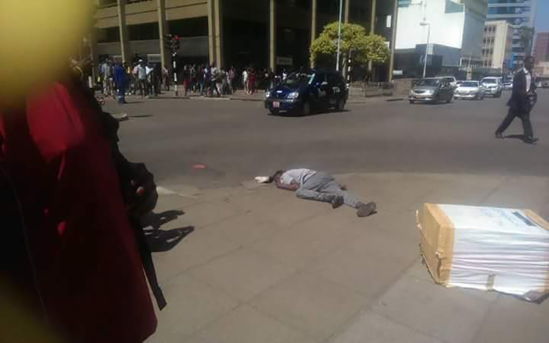 'ED supporter' shoots Harare man dead, incensed crowd burns down his car