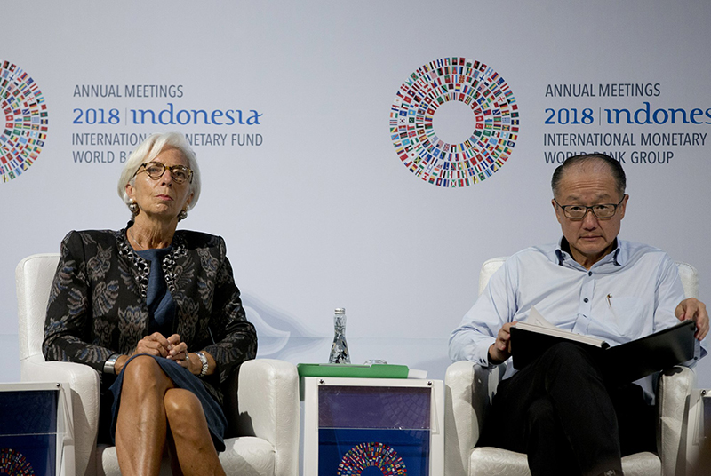 World Bank head says trade tensions could worsen poverty