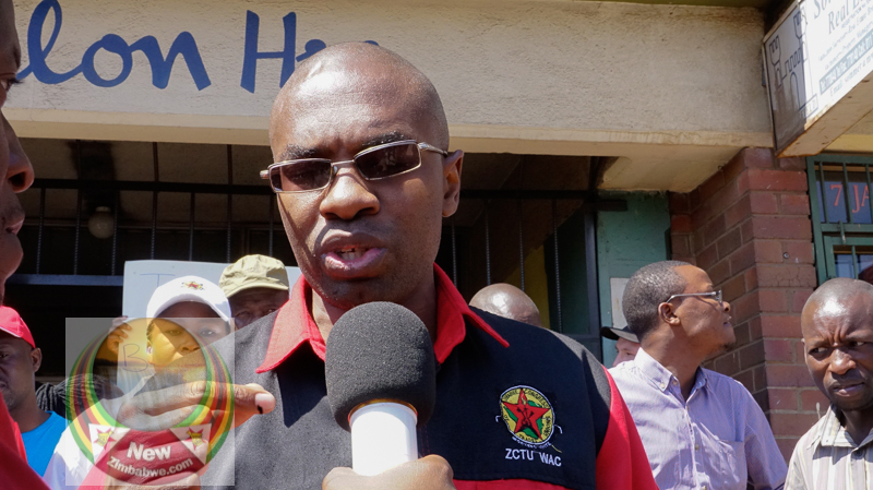 State agents storm Harare hotel, drag out visiting trade union boss