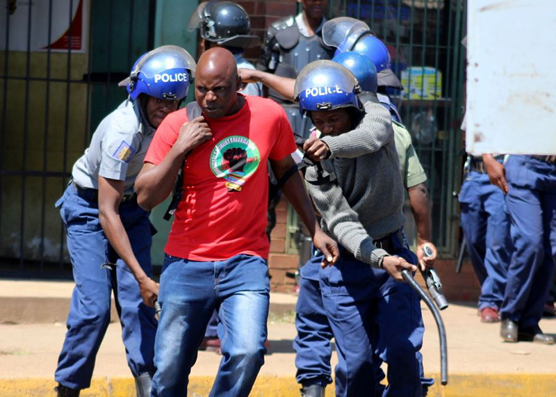 Court upholds police ban on ZCTU anti-tax protests; union leaders arrested countrywide
