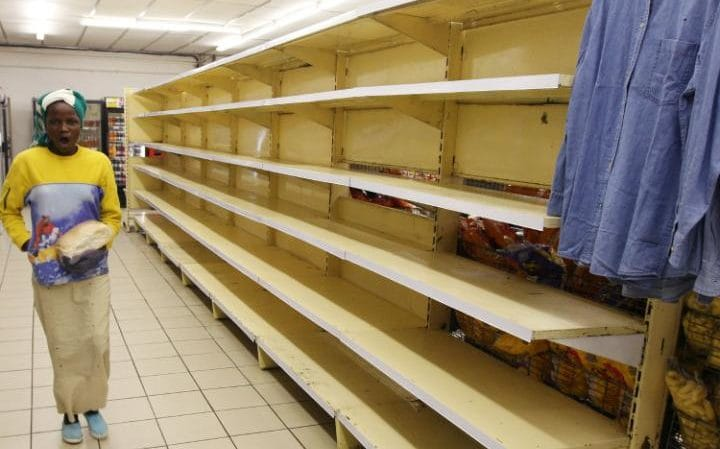 Shelves empty as specter of hyperinflation returns to Zimbabwe