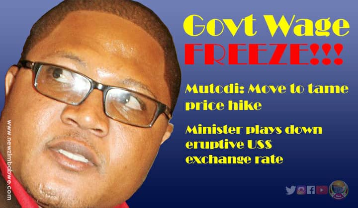 Mutodi reveals govt planning on civil service wage freeze