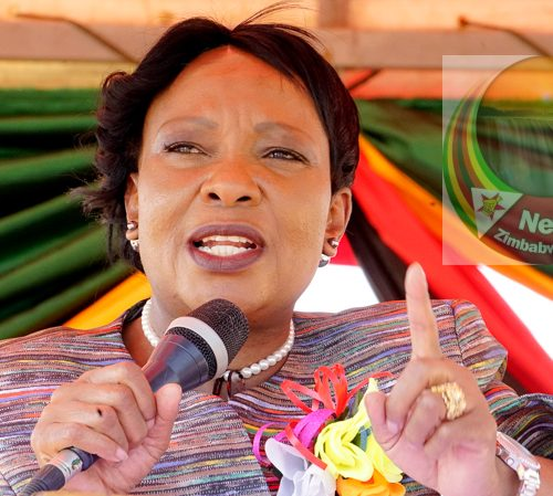 Zimbabwe First Lady 'begs retailers to lower food prices'