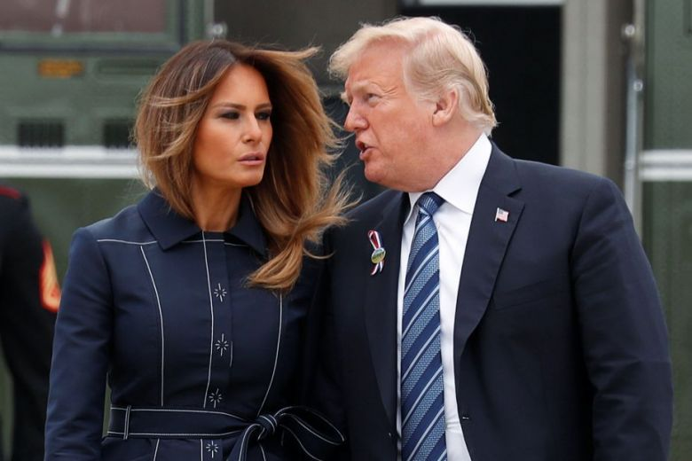 'We are fine': Melania Trump dismisses gossip about marriage