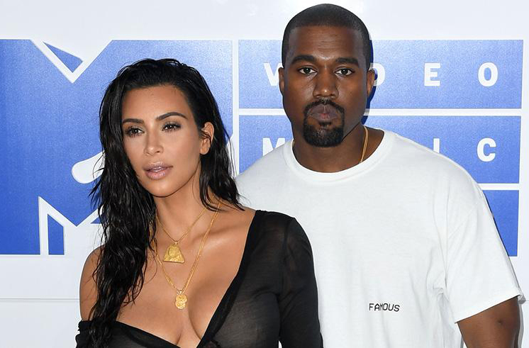 West slams Drake for following wife Kim Kardashian on Instagram